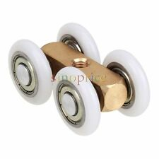 Four-wheeled Door Hanging Wheel Sliding Roller Pulley FOR Shower Screen Window