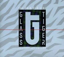 Thin Red Line (Anniversary Edition) - Glass Tiger (2012, CD NIEUW)2 DISC SET