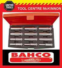 "BAHCO S1612L 12pce METRIC 1/2"" DRIVE DEEP SOCKET SET"
