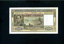 Belgium 100 francs 1945 - VF
