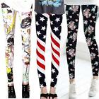 Sexy Women Skinny Colorful Jeggings Stretchy Pants Soft Leggings Pencil Trousers