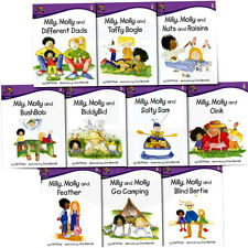 Milly, Molly  Level 5 Children 10 Books Collection Set by Gill Pittar   BB Brown