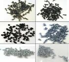 HO Parts Miniature Hardware 2-56 Freight Car Truck Screw Assortment 600 Screws