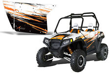 AMR Racing Graphic Wrap Kit Polaris RZR 800 UTV INC Doors RZR 800 Decal ORANGE
