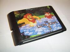 El Rey León 3 juego para Sega Megadrive Genesis Consolas
