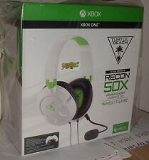 Turtle Beach Ear Force Recon WHITE 50X Gaming Headset Xbox One / PS4 /Mac / PC