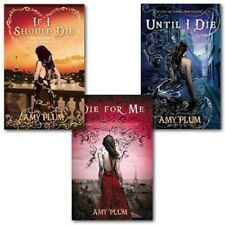 Amy Plum 3 Books Collection Set If I should Die Until I die die for Me New PB