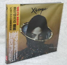 Michael Jackson Xscape Deluxe Version 2014 Taiwan CD+DVD (ft. Justin Timberlake)