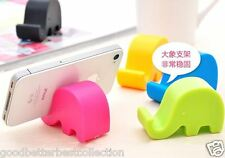 1 Pcs Mini Cute Elephant Stand Holder for Chopstick Mobile Phone Mp3 Mp4 Card