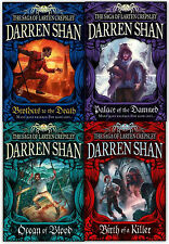 Darren Shan Series Collection: The Saga of Larten Crepsley 4 Books Set Pack NEW