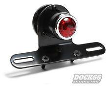 LED Rücklicht Retro mit Kennzeichenhalter für Harley Triumph Norton BSA AWO