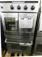 "AMERICAN RANGE DOUBLE 30"" ELECTRIC STAINLESS STEEL WALL OVEN FRENCH DOOR"