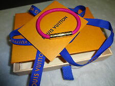 LOUIS VUITTON SS 2017 PINK CONFIDENTIAL BRACELET BRAND NEW IN BOX SIZE 17