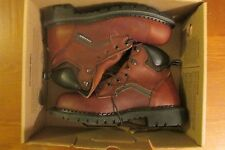 NIB Red Wing mens 8D brown leather work & safety boots oil resistant steel toe