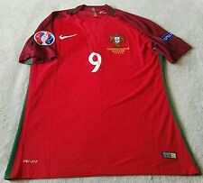 Portugal Eder 9 EURO 2016 Final Match 10/07/16 Jersey, Mens XL