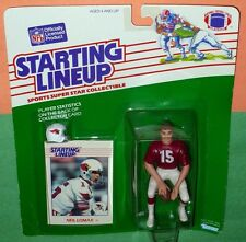 1988 NEIL LOMAX Phoenix Arizona Cardinals - low s/h - Starting Lineup squat pose