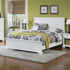 Home Styles 5530-500 Naples White Queen Bed White NEW