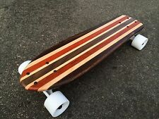 "Mini Cruiser Skateboard -  Bass ""Mini Croozer"" (Solid Wood)"