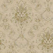 "12""/31cm Wallpaper SAMPLE Incredibly Gorgeous Victorian Damask NK2055"