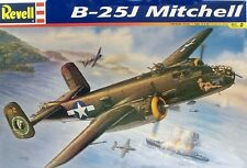 Revell 1/48 Scale B-25J Mitchell Plastic Model Kit 85-5512 Factory Sealed