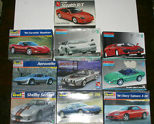 REVELL MONOGRAM AMT EXOTIC MODEL KITS Corvette Lamborghini - CANADA