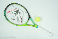 NEW! Dunlop iDapt Force 100 S w/ Firm Shock Sleeve 4 5/8 Tennis Racquet (#2881)