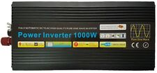 1000W/2000W (Peak) Pure Sine Wave Power Inverter 12V DC to AC With Remote
