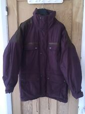 "Tenson Prime Down Purple Quilted Jacket Coat Size 48 AtoA29"" L33"" *C1"