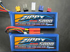 2 ZIPPY 5000mAh 3S 11.1V 20C LIPO TRAXXAS E-REVO SLASH 4X4 VXL SAVAGE FLUX HPI