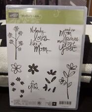 "BRAND NEW Stampin Up ""MOTHER'S LOVE"" - Photopolymer Stamp Set"