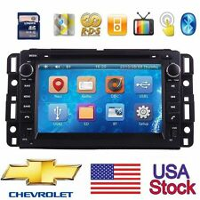 "7"" 2Din Car CD DVD Player GPS Navigation BT Radio Stereo for Chevrolet Silverado"