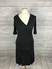 Women's Ted Baker Dress - Size 2 UK10 - Charcoal  - Great Condition