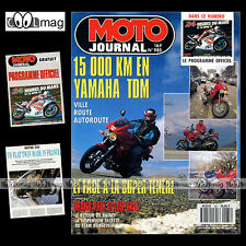 MOTO JOURNAL N°985 KAWASAKI GPX 750 YAMAHA TDM 850 RATIER C6S 24H DU MANS 1991
