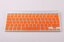 Orange UK/EU Silicone keyboard Cover Protector for Apple iMac, Macbook Pro