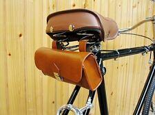 Cómodo Alta Calidad Suave Vintage Sillín De Bicicleta Cola BagTool Bag CJ282