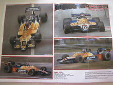 Tameo bouwtekening TMK272 Shadow Ford DN96 1979 1:43 #17 Jan Lammers (NED)