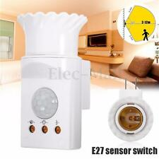 220V E27 PIR Sensor Switch Infrared Motion Detector US Plug Control Home System