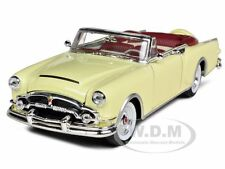 1953 PACKARD CARIBBEAN CONVERTIBLE CREAM 1/24 DIECAST CAR MODEL BY WELLY 24016