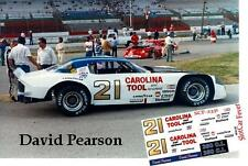 CD_2331 #21 David Pearson  1973 Camaro   1:64 scale decals