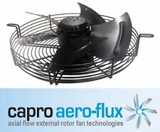 630MM 3-PHASE 6-POLE AXIAL FAN + GRILL SUCTION CAPRO AERO FLUX 6D630 415V