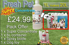 FRESH PET SUPER PACK Kennel/Cattery Disinfectant to make 20L - COCONUT