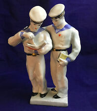 Russian LFZ  porcelain figurine Young Navy Boys