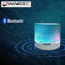 Bluetooth Wireless Mini Portable Speaker Bass for MP3 iPhone iPad + LED Light
