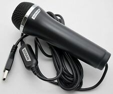 NEW USB Microphone Let's Sing 2016 It Lips XBox-1/360 PS2/PS3/PS4 Wii-U PC Skype
