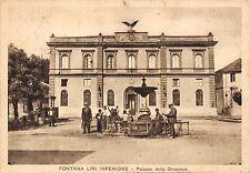 9412) FONTANA LIRI INFERIORE (FROSINONE) PALAZZO DELLA DIREZIONE. VG NEL 1937.