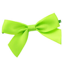 x100 Green Twist Tie Bows 3 inch st patricks day cake pop decoration fasteners