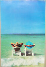 (PRL) 1989 MARE SEA MER MAR RELAX VINTAGE AFFICHE PRINT ART POSTER COLLECTION