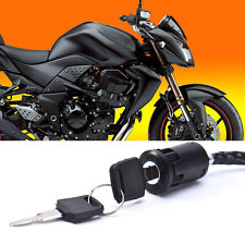 1pc Universal Motorcycle Start the Ignition Switch Electric Door Lock Key Hot