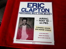 ERIC CLAPTON~ NOTHING BUT THE BLUES~ PROMO DISPLAY~ 1995~MINT~ ~COLLECTABLES