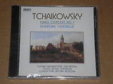 PYOTR TCHAIKOVSKY -PIANO CONCERT N. 1, OVERTURE SOLENELLE- CD SIGILLATO (SEALED)